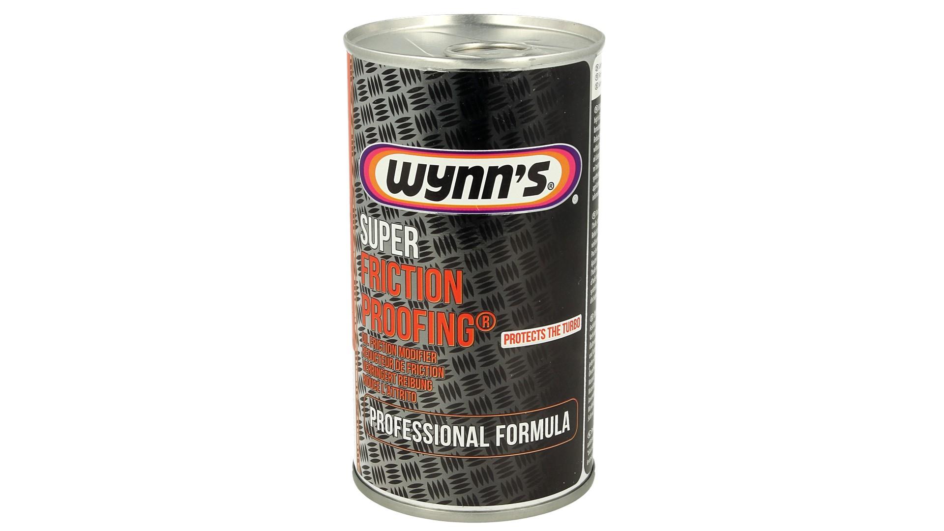Wynns Super Friction Proofing Riduce Attrito Protegge il Turbocompressore 325ml - PZ