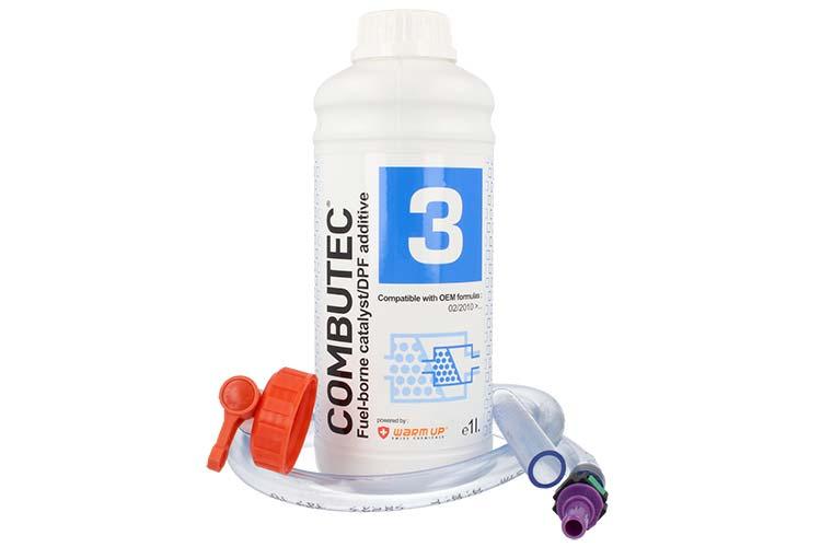 WARM UP COMBUTEC 3 CBT3-1 Cerina Additivo FBC OEM Per FAP Compatibile con Eolys Powerflex 1 Litro - PZ