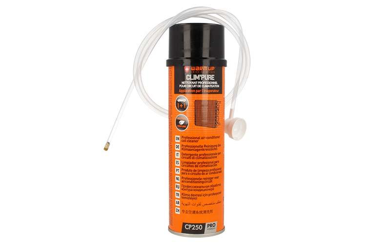 WARM UP Clim Pure Pulitore Detergente Professionale Per Circuito Di Climatizzazione 250ml Schiuma Attiva Penetrante - PZ