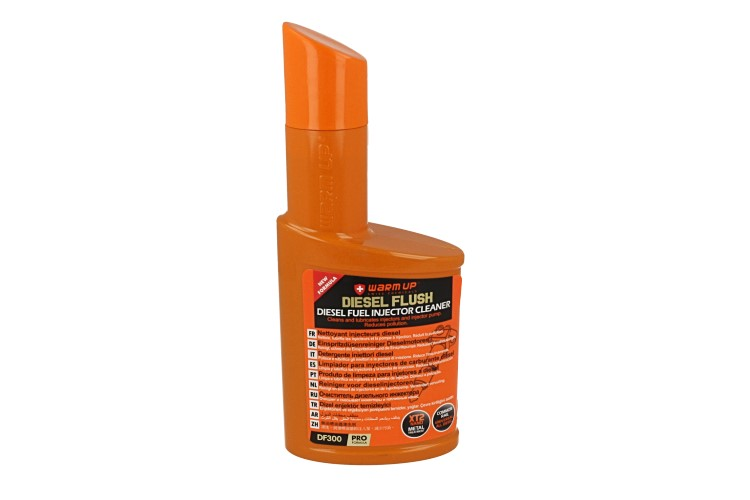 WARM UP Diesel Flush DF300 Pulitore Detergente Sistema di Iniezione Diesel Formula Common Rail DW10 300ml - PZ