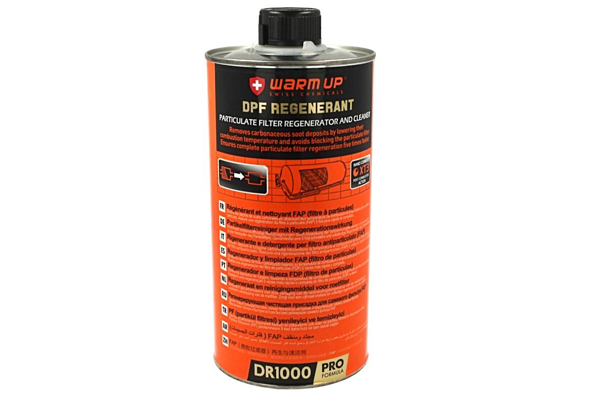 WARM UP DPF FAP Rigenerante Filtri Antiparticolato DR1000 Addittivo Trattamento Curativo FAP Formula Pro 1000ml - PZ