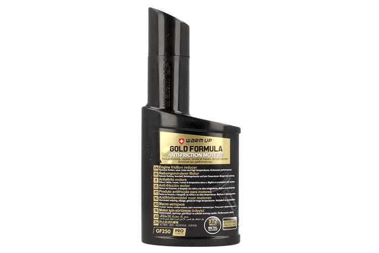 WARM UP Gold Formula GF250 Additivo Antiattrito Olio Motore Cambio Manuale Servosterzo Differenziale 250ml - PZ