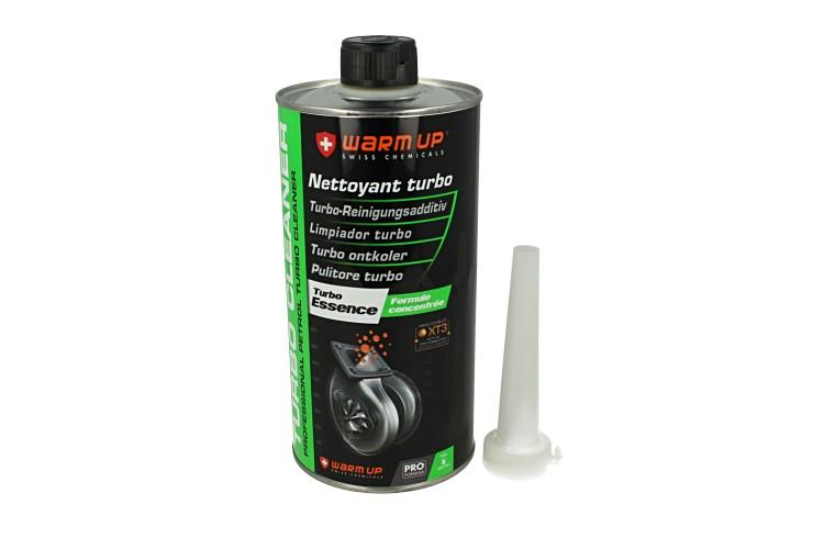 WARM UP Turbo Cleaner Petrol TCP1000 Pulitore Turbo Benzina e Scarico Post Combustione 1000ml - PZ