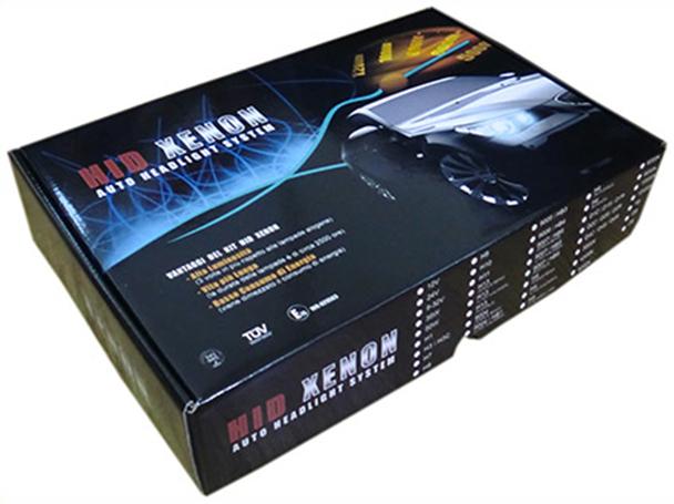 Scatola In Cartone Per Kit Hid Xenon Auto Design Italiano Solo Scatola Vuota - PZ