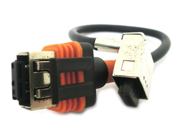 Cavo Cavetto Connettore Lampada Xenon D1S D1R Per Collegamento Ballast D1S Universale XB1108 XB1600 - PZ